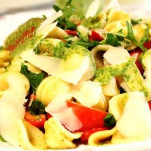 Рецепт Орекьетте с цветными овощами и соусом Маскарпоне