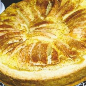 Рецепт. Яблочный пирог по-баварски