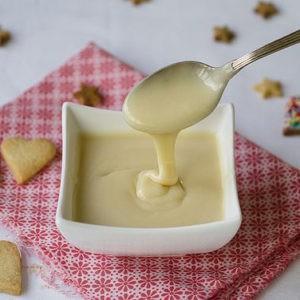 Рецепт.Домашнее сгущенное молоко за 15 минут