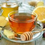 Рецепт имбирного чая с медом