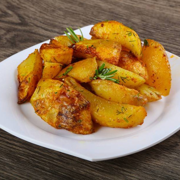 Рецепт картошки по-деревенски в духовке