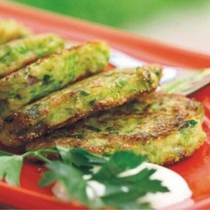 Рецепт оладьев с кабачком и сыром