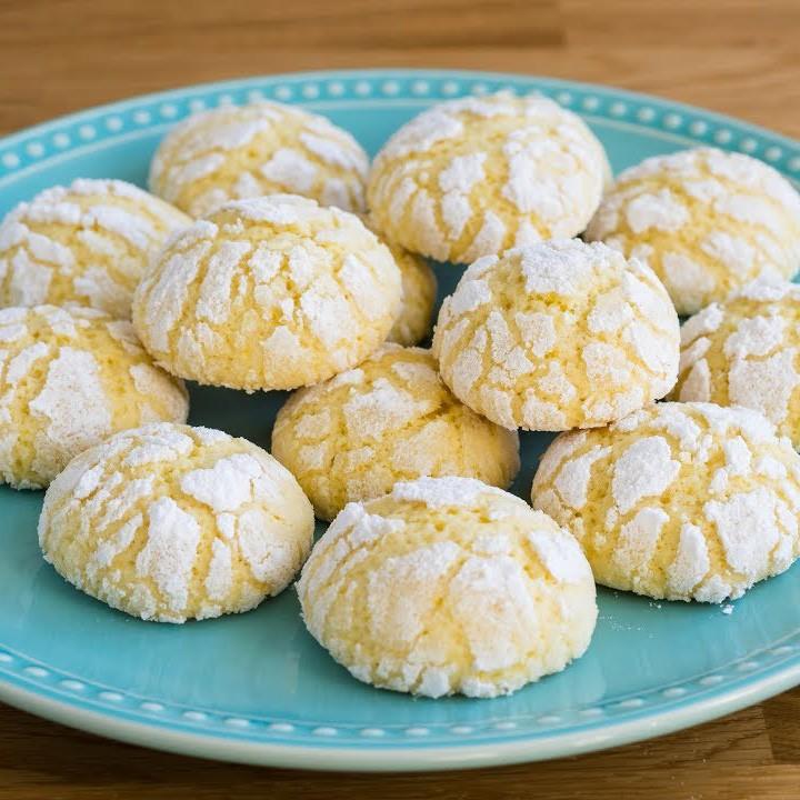 Рецепт песочного апельсинового печенья