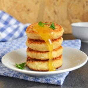 Рецепт сырников с йогуртом