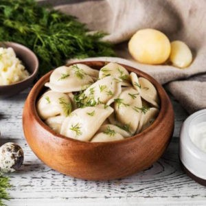 Рецепт вареников с картошкой