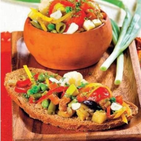 Рецепт рагу сельского с зеленым горошком