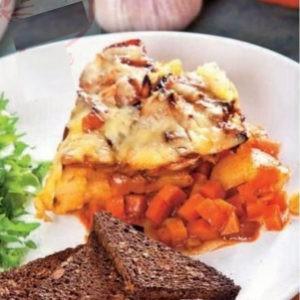 Рецепт рагу запеченного под сыром