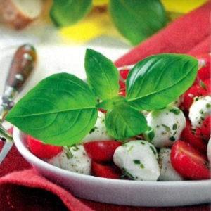 Рецепт томатов с моцареллой