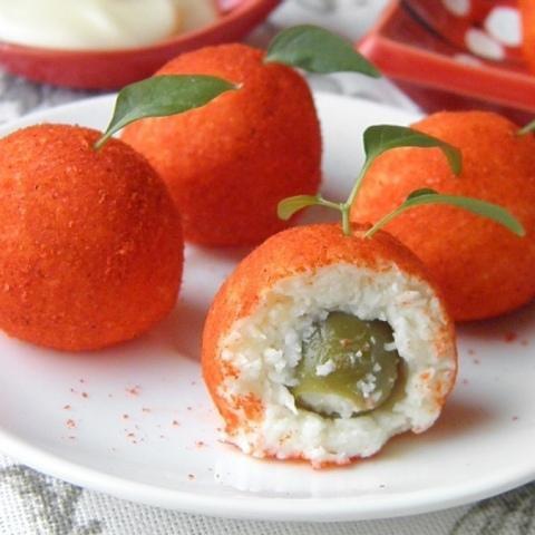 Recept syrnoj zakuski «Mandariny»