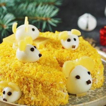 Рецепт салата «Мышки в сыре»