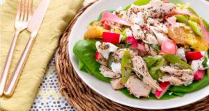 Салат с мясом курицы - Фото