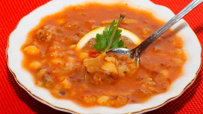 Суп харира - Фото